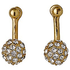 Pilgrim - Amalia gold plated earrings