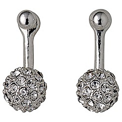 Pilgrim - Amalia silver plated earrings