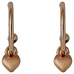Pilgrim - Sophia rose gold earrings