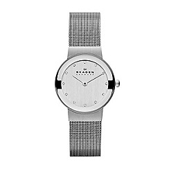 Skagen - Ladies silver quartz bracelet watch
