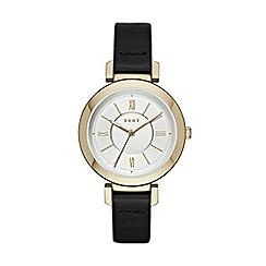 DKNY - Ladies Ellington leather strap watch