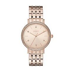 DKNY - Ladies Minetta rose gold watch