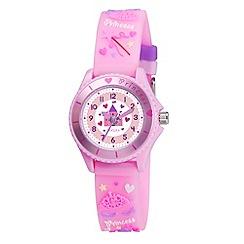 Tikkers - Kids' pink 'princess' watch tk0036