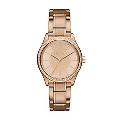 Armani Exchange - Ladies Rose bracelet watch