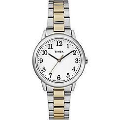 Timex - Ladies Easy reader stainless steel bracelet watch