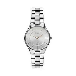 STORM London - Ladies silver round dial watch slim-x silver