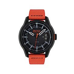 Boss Orange - Men's Hong Kong orange strap watch