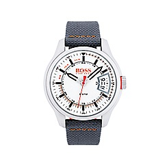 Boss Orange - Men's Hong Kong grey strap watch