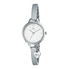 Radley - Silver love lane bangle watch