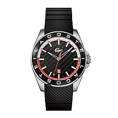 Lacoste - Gents black strap watch