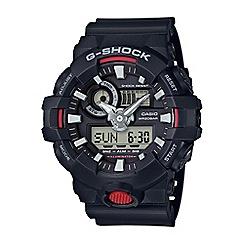 Casio - Men's black 'G shock' chronograph digital watch