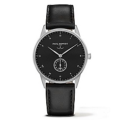 PAUL HEWITT - Unisex black 'Signature Line' analogue watch ph-m1-s-b-2m