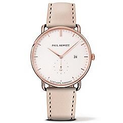 PAUL HEWITT - Unisex hazelnut 'The Grand Atlantic' analogue watch ph-tga-r-w-22s