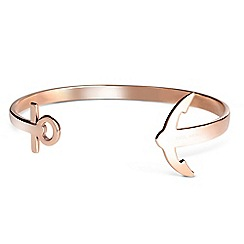 PAUL HEWITT - Unisex rose gold 'Ancuff' bangle ph-cu-r-l