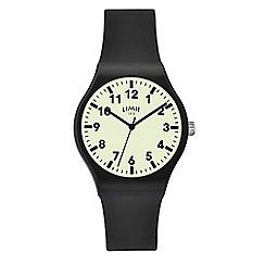 Limit - Men's black analogue strap watch