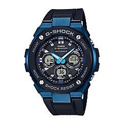 Casio - Men's black g-steel midsize alarm chronograph watch gst-w300g-1a2er