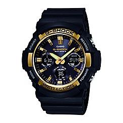 Casio - Men's black g-shock radio controlled chronograph watch gaw-100g-1aer