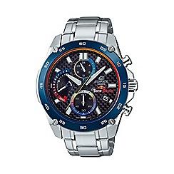 Casio - Men's silver edifice  special edition scuderia toro rosso watch efr-557tr-1aer