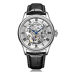 Rotary - Men's silver 'Mechanique' watch GS02940/06