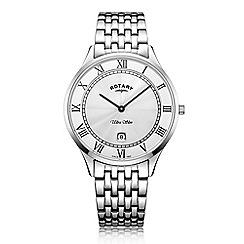 Rotary - Men's silver 'Ultra Slim' watch GB08300/01