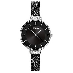 Sekonda - Ladies black 'seksy' fashion watch 2578.39
