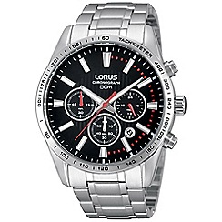 Lorus - Gents sports chronograph bracelet watch
