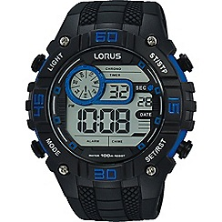 Lorus - Silicone strap digital watch