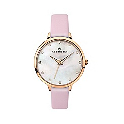 Accurist - Ladies pink watch 8157