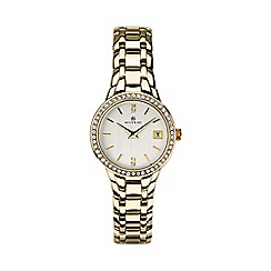 Accurist - Ladies gold watch 8178