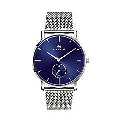 Accurist - Men's silver watch 7126