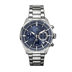 Accurist - Men's silver chronograph watch 7193