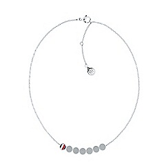 Tommy Hilfiger - Ladies stainless steel, multi coin necklace