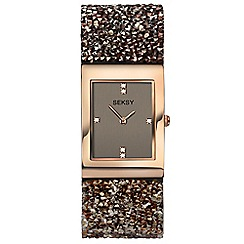Seksy - Ladies rose gold 'seksy' fashion watch 2580.39