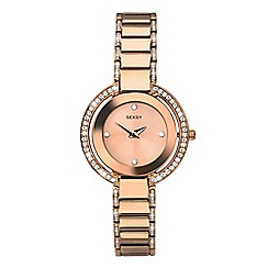 Sekonda - Ladies rose gold 'seksy' fashion watch 2575.39