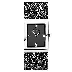 Sekonda - Ladies black 'Seksy' fashion watch 2573.39