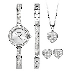 Sekonda - Ladies silver gift set