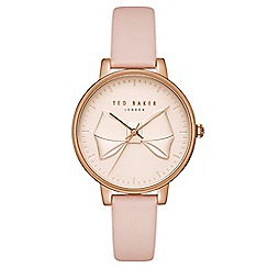 Ted Baker - Ladies pink analogue watch tec0185001