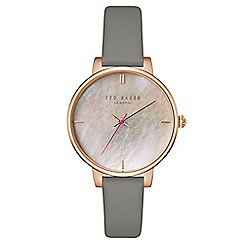 Ted Baker - Ladies grey analogue watch tec0025002