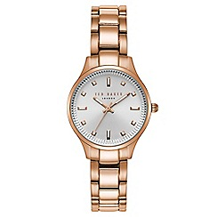 Ted Baker - Ladies rose gold analogue watch te50006001