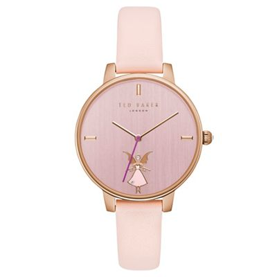 85a69978b Ted Baker - Ladies pink analogue watch te15162004