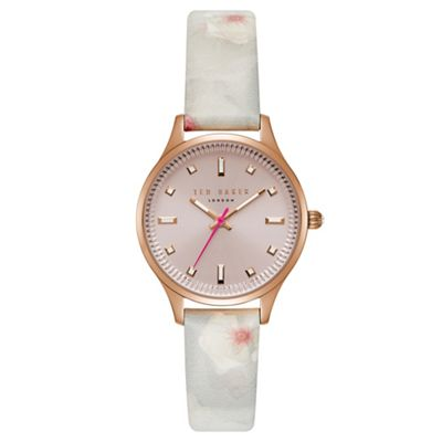 a400b159f4c5 Ted Baker Ladies multi-coloured  Chelsea  analogue watch te50001002 ...
