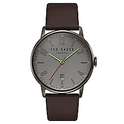 Ted Baker - Men's brown analogue watch te15067004