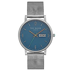 Ted Baker - Men's silver analogue watch te15196013