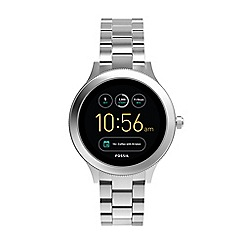 Fossil - Venture silver stainless steel smart watch