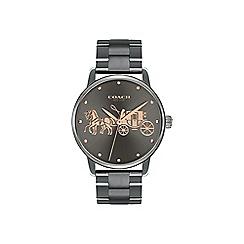 Coach - Ladies grey Delancey bracelet watch
