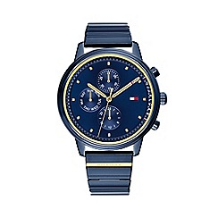 Tommy Hilfiger - Ladies blue 'Blake' analogue bracelet watch 1781893