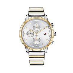 Tommy Hilfiger - Ladies gold and silver 'Blake' analogue bracelet watch 1781908