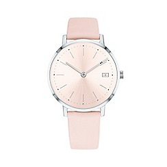 Tommy Hilfiger - Ladies pink 'Pippa' analogue leather strap watch 1781925