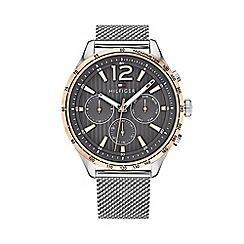 Tommy Hilfiger - Men's silver 'Gavin' analogue bracelet watch 1791466