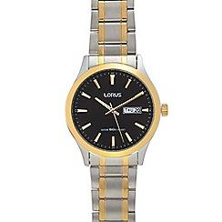 Lorus - Mens' silver bracelet watch 'RXN58DX9F'